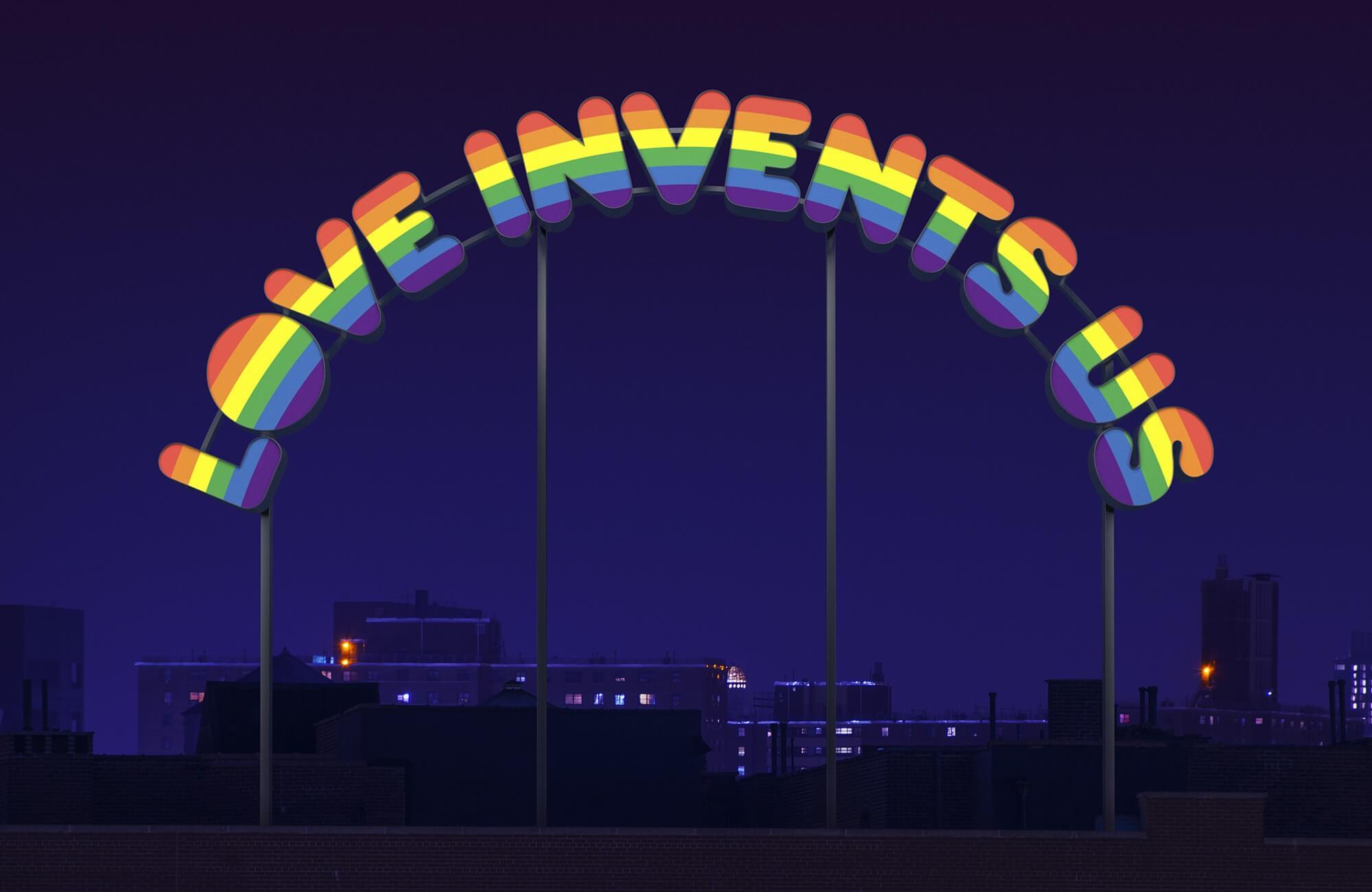 love invents us | UGO RONDINONE