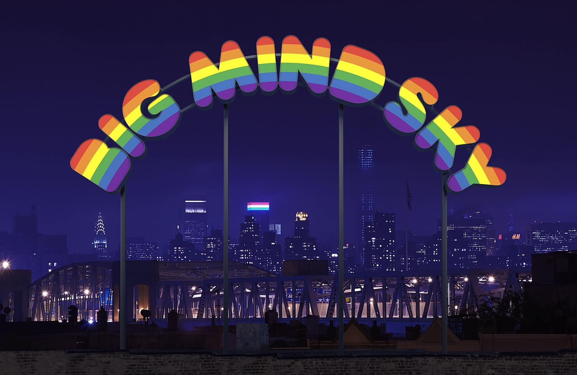 big mind sky   UGO RONDINONE