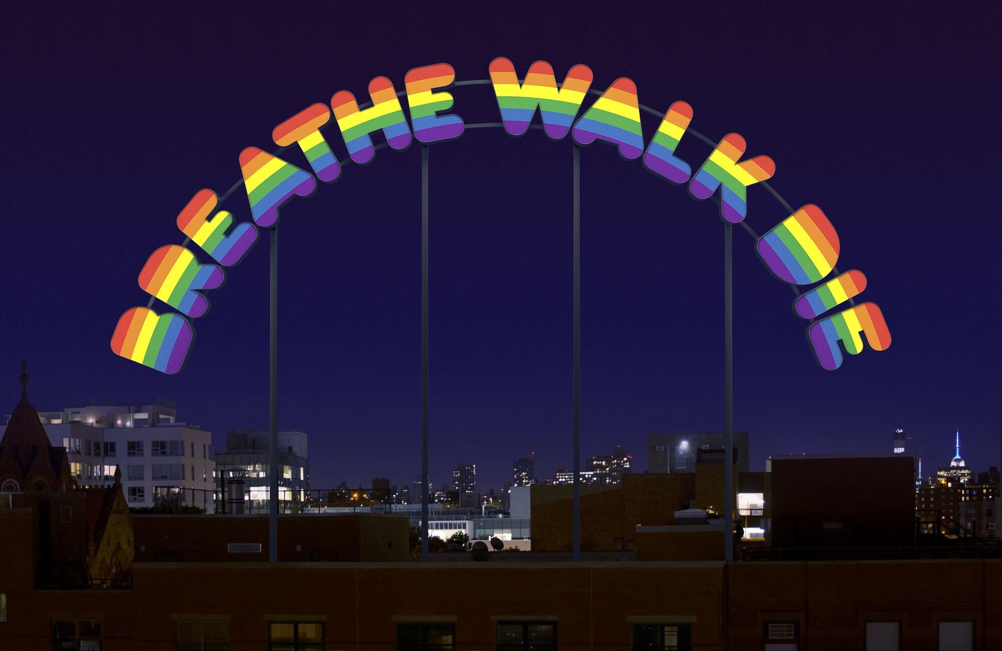 breathe walk die | UGO RONDINONE