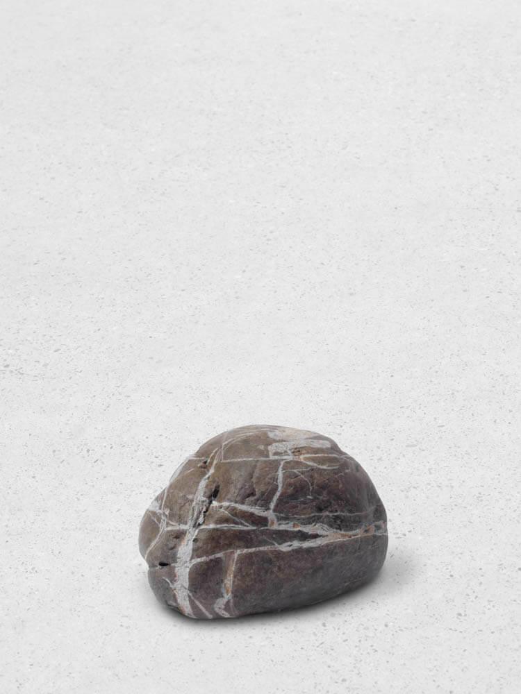 still.life. (brown stone) | UGO RONDINONE