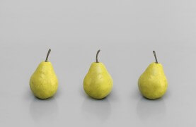 still.life. (three pears) | UGO RONDINONE
