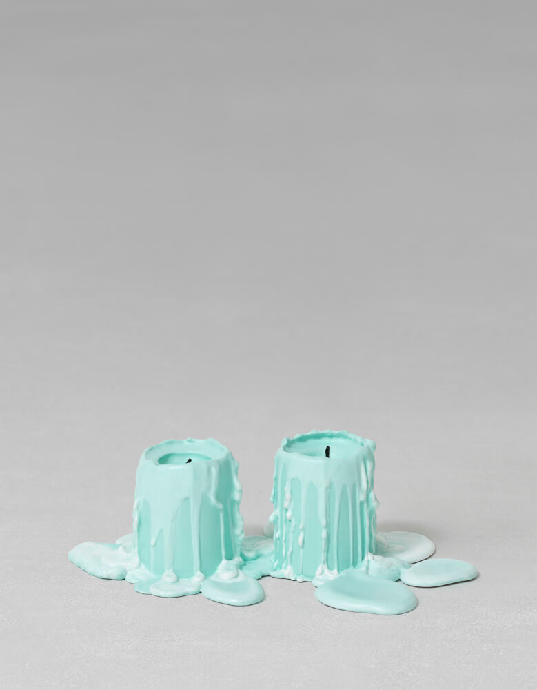 still.life. (mint green candle) | UGO RONDINONE
