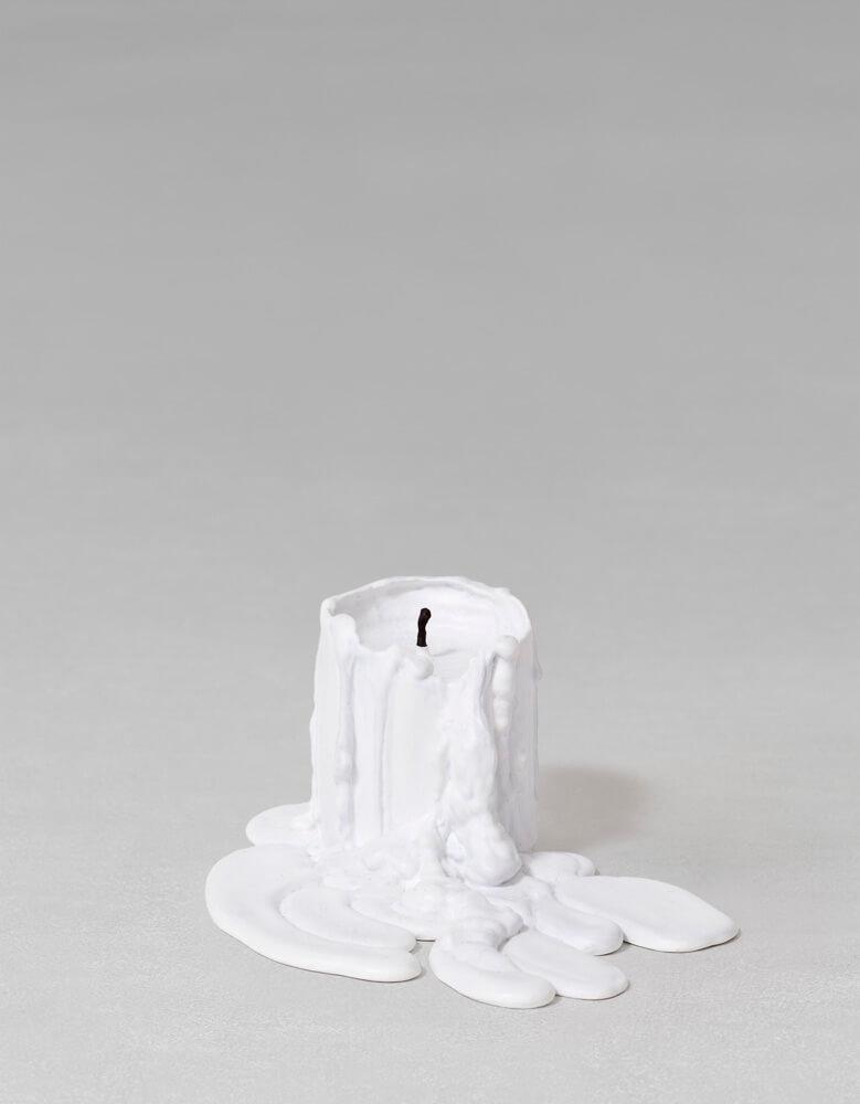 still.life. (white candle)   UGO RONDINONE