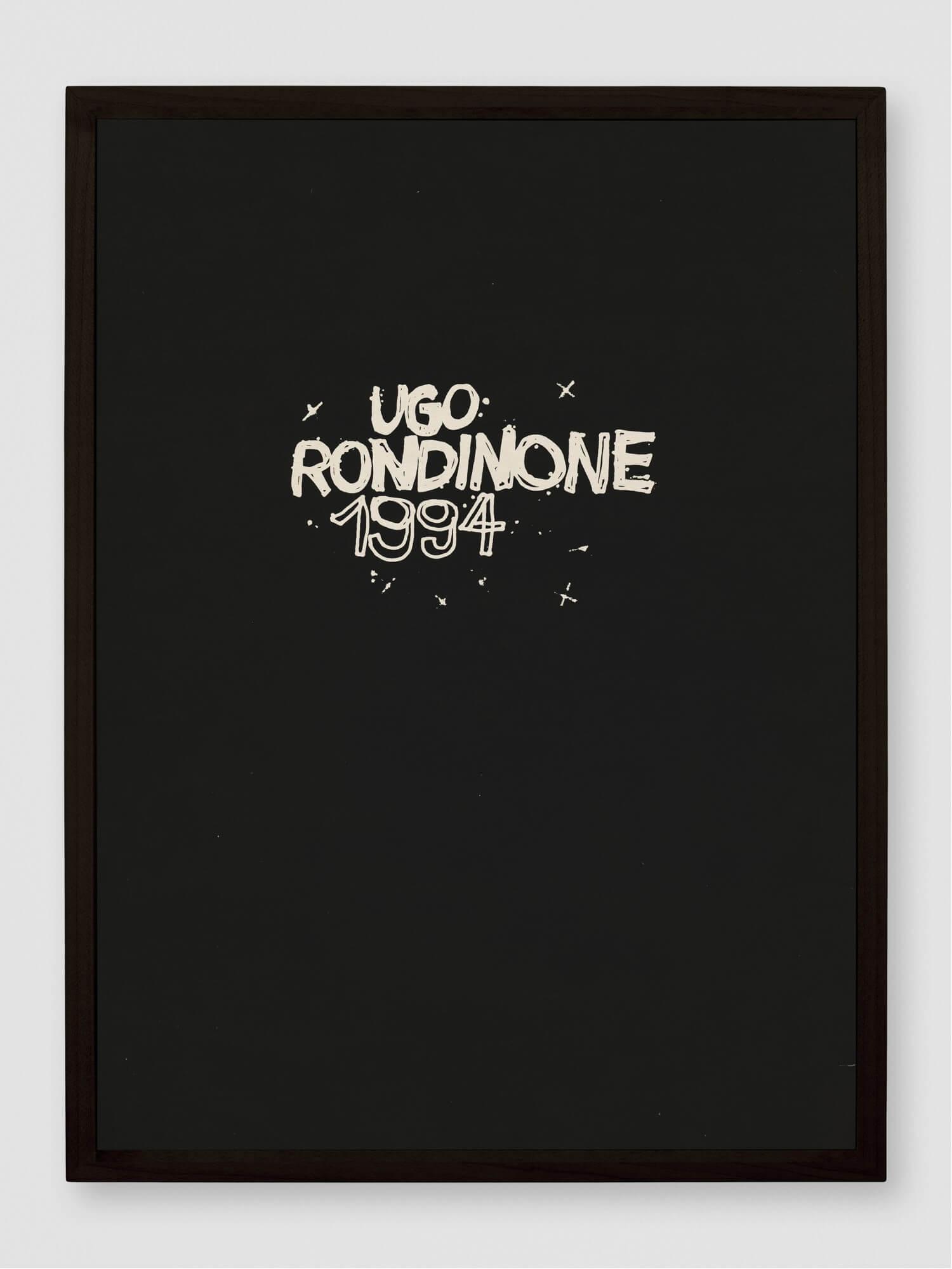 1994   UGO RONDINONE