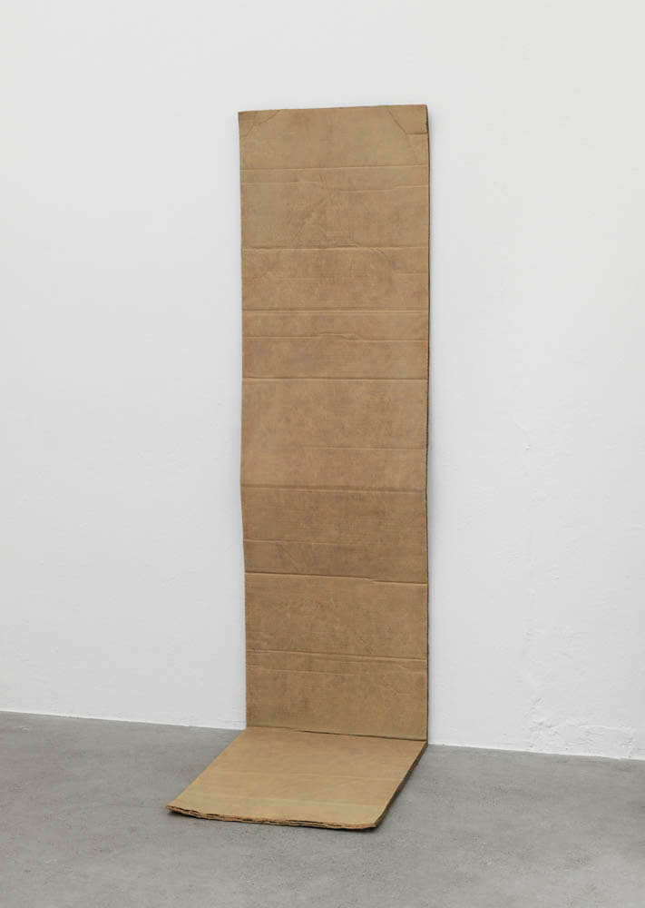 still.life. (folded cardboard) | UGO RONDINONE