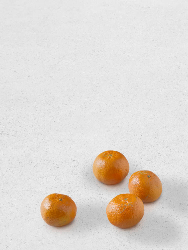 still.life. (four tangerines) | UGO RONDINONE