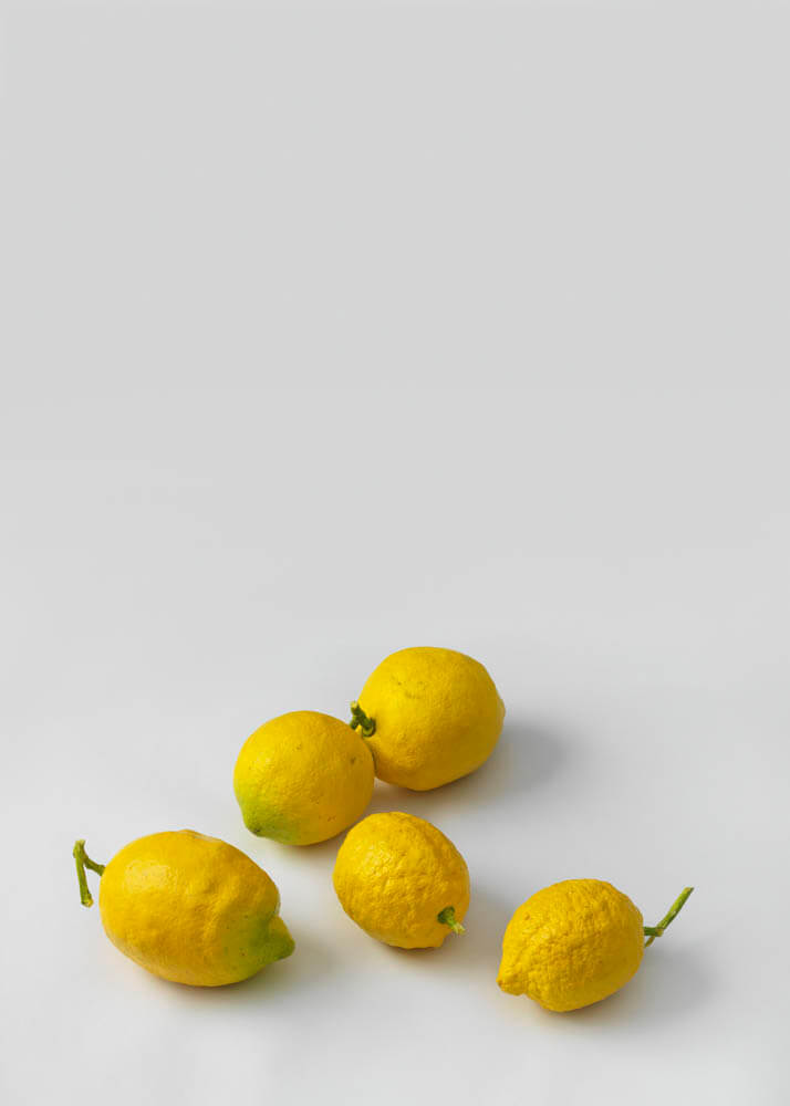 still.life. (five lemons) | UGO RONDINONE