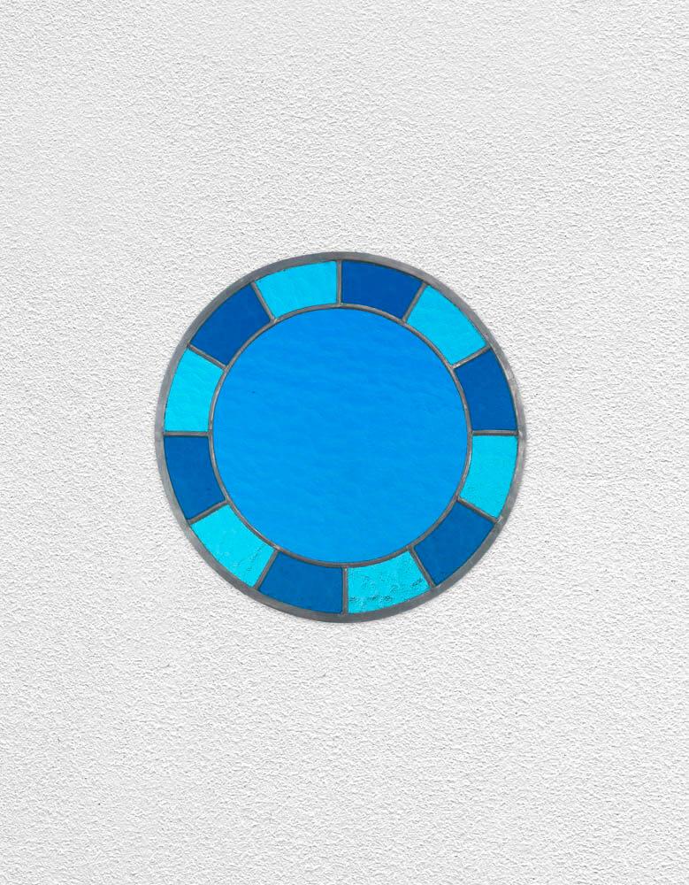 blue blue blue clock | UGO RONDINONE