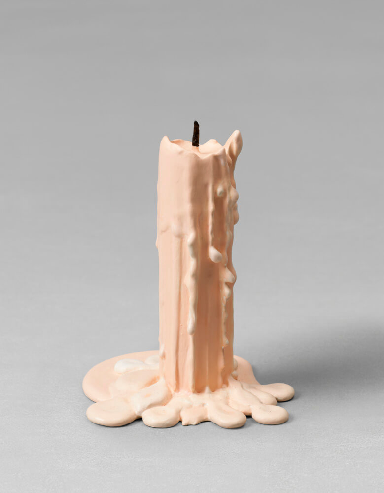 still.life. (pale pink candle) | UGO RONDINONE