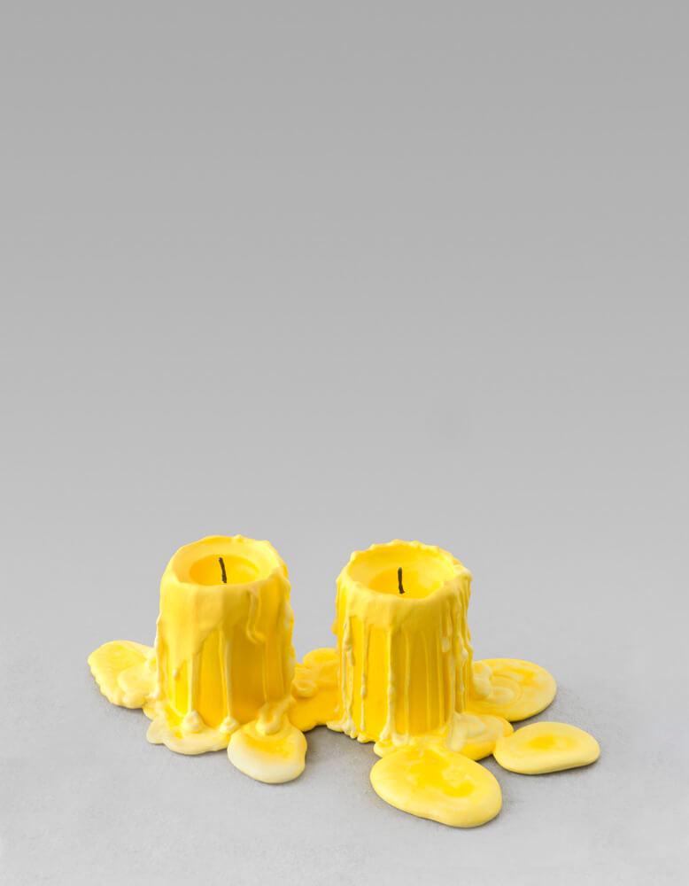 still.life. (warm yellow candle) | UGO RONDINONE