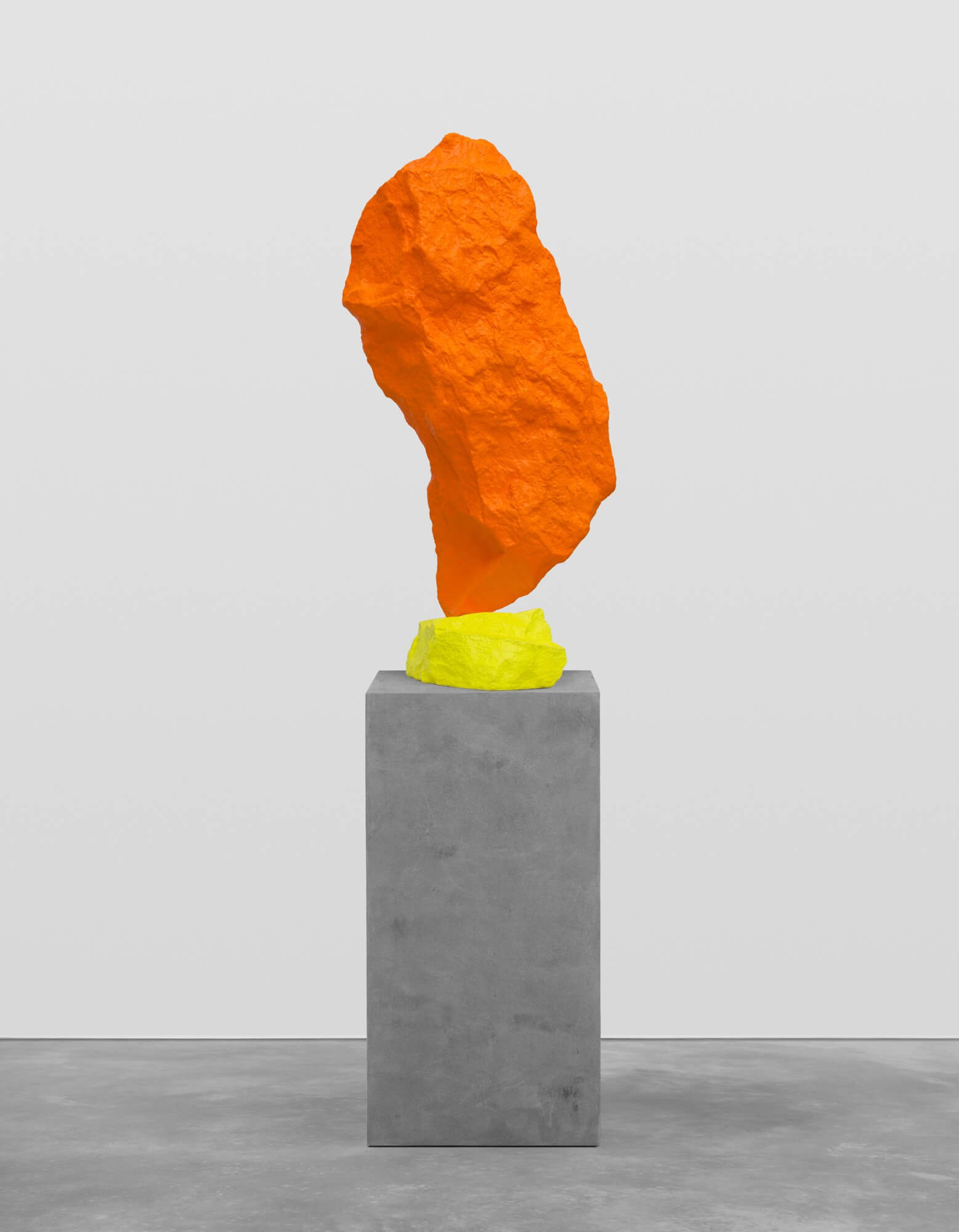 yellow orange mountain | UGO RONDINONE