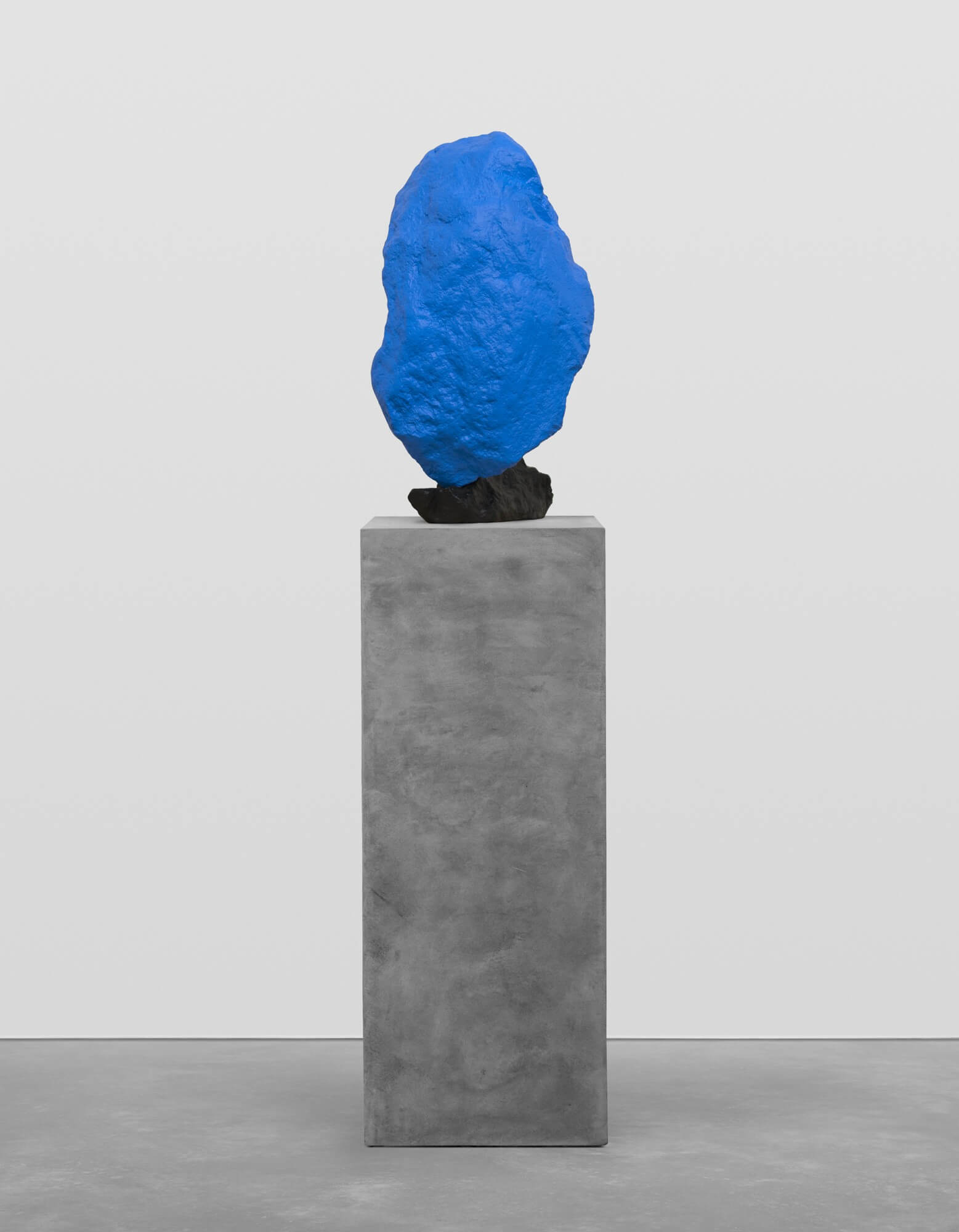 black blue mountain | UGO RONDINONE