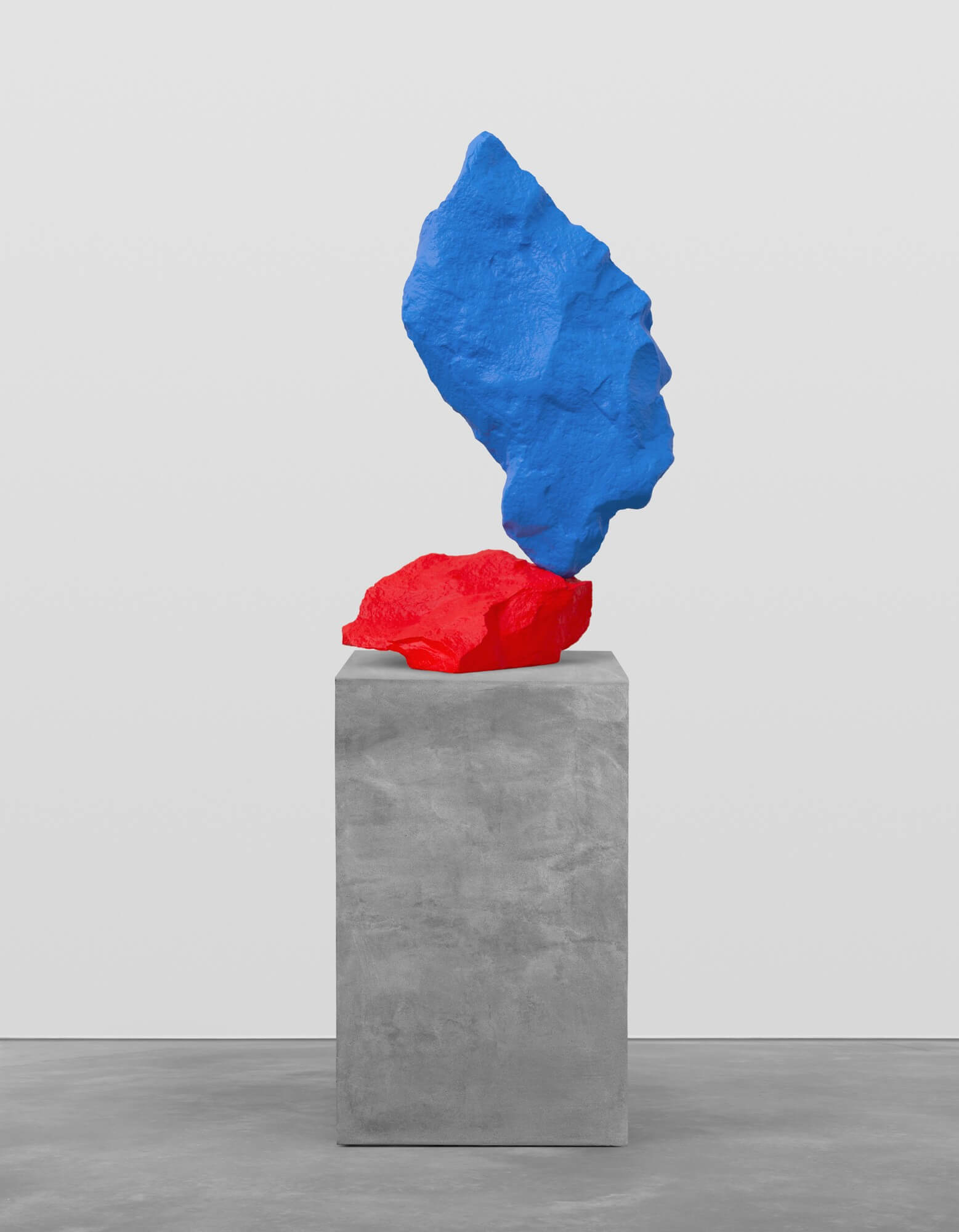 red blue mountain | UGO RONDINONE