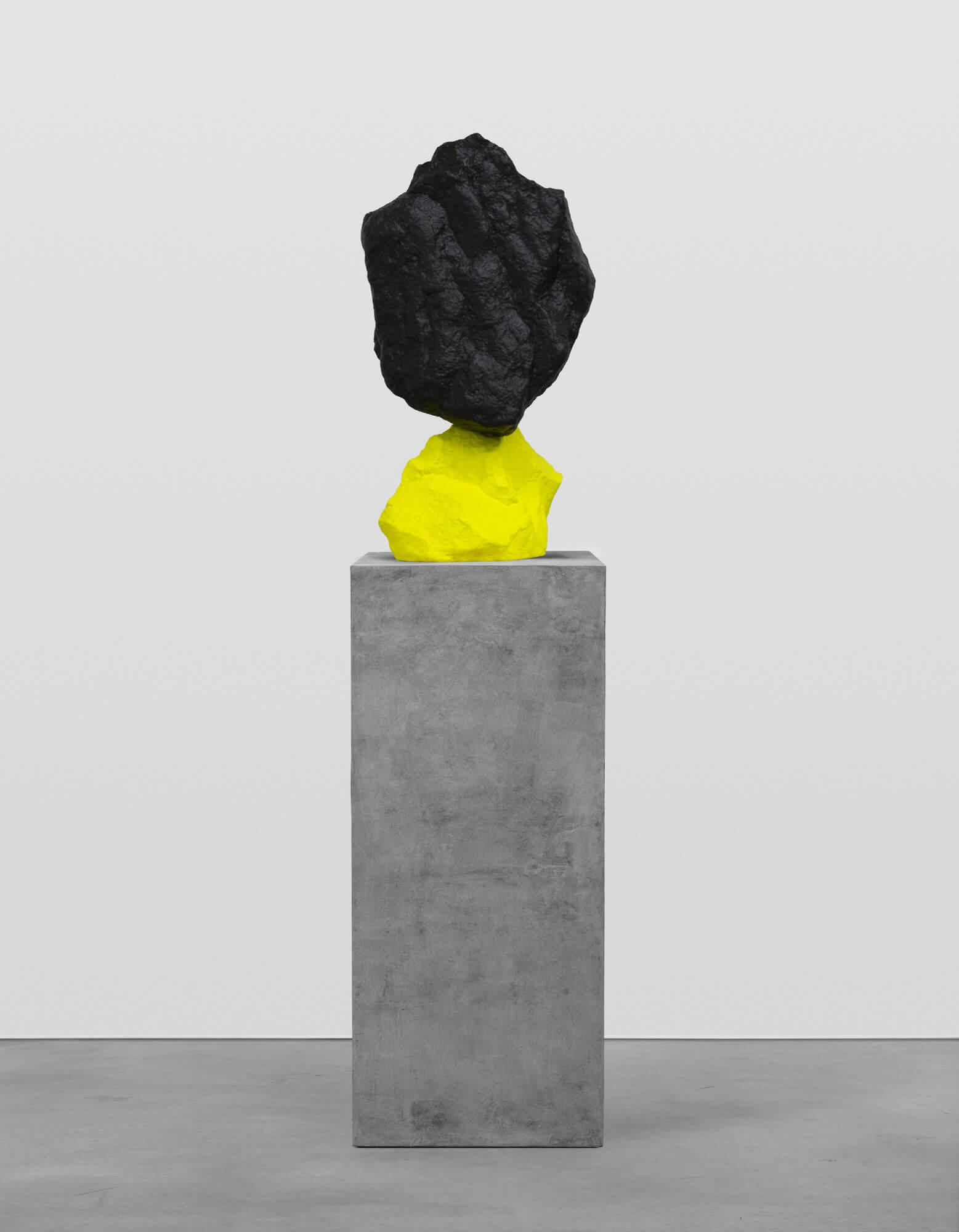 yellow black mountain | UGO RONDINONE