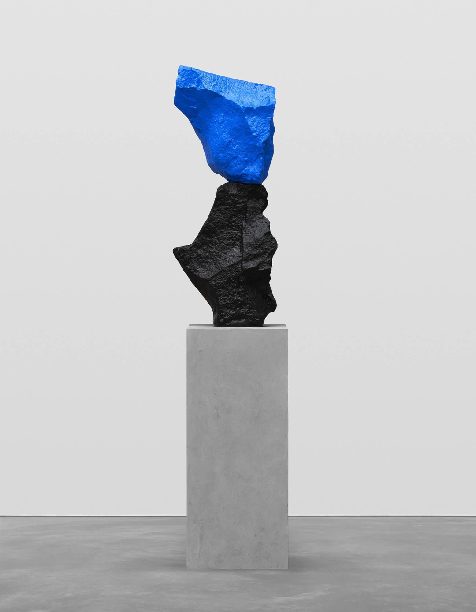 black blue mountain | UGO RONDINONE