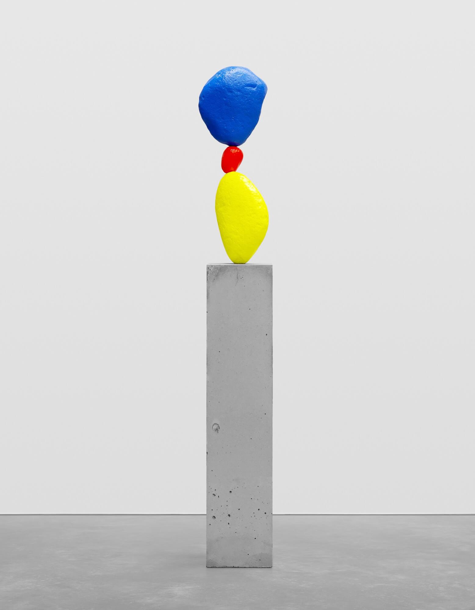 yellow pink blue | UGO RONDINONE