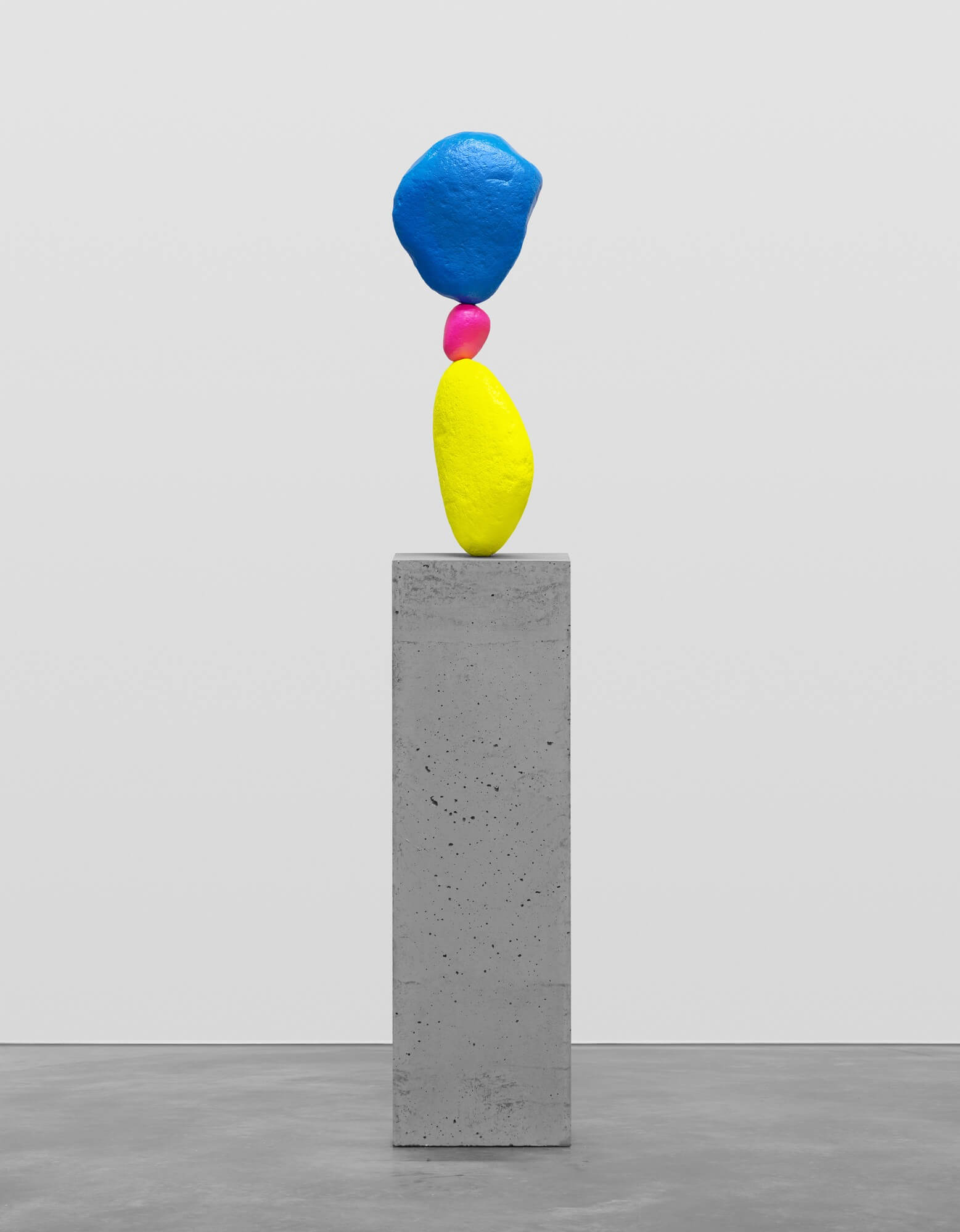 yellow pink blue | UGO RONDINONE