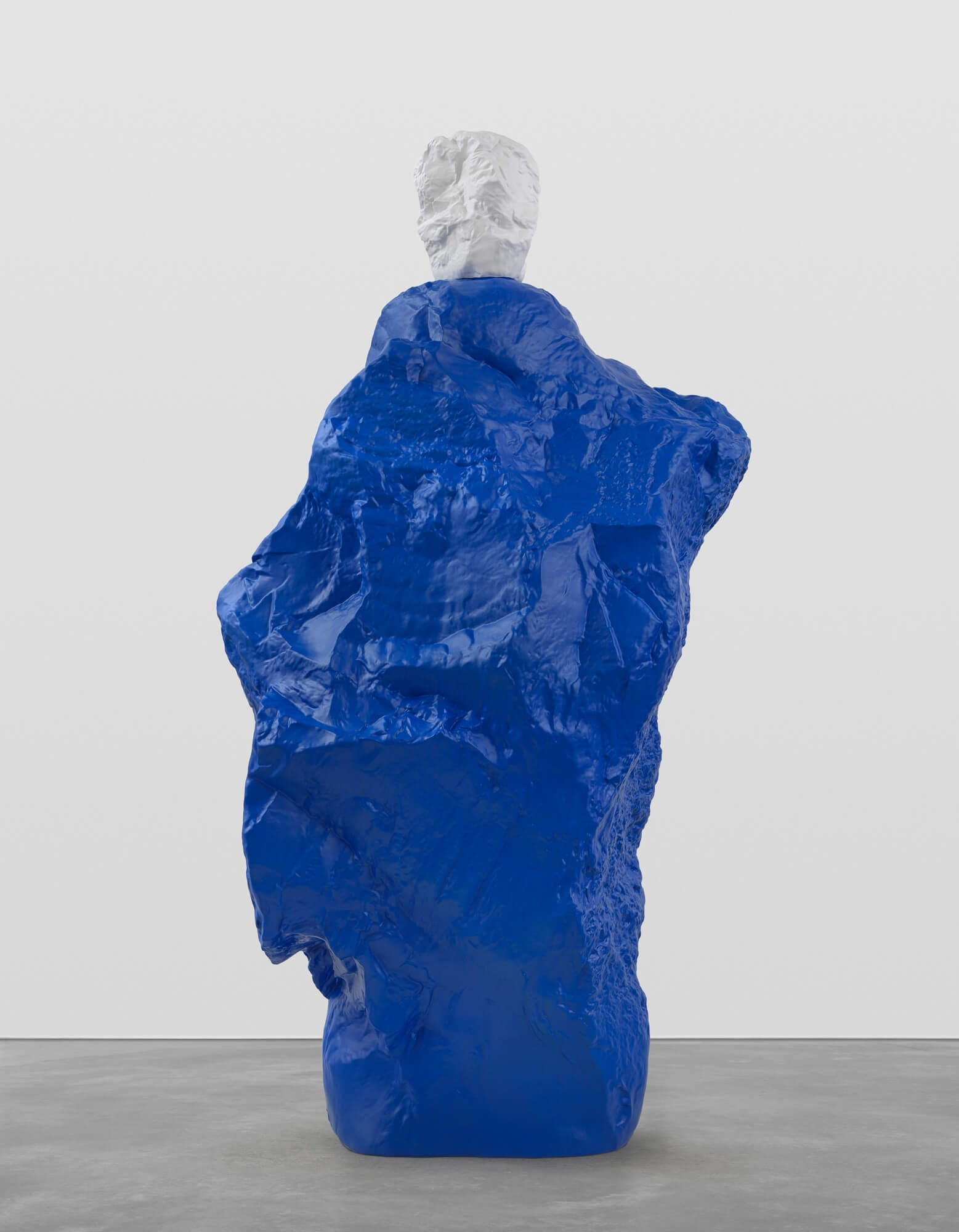 white blue monk | UGO RONDINONE