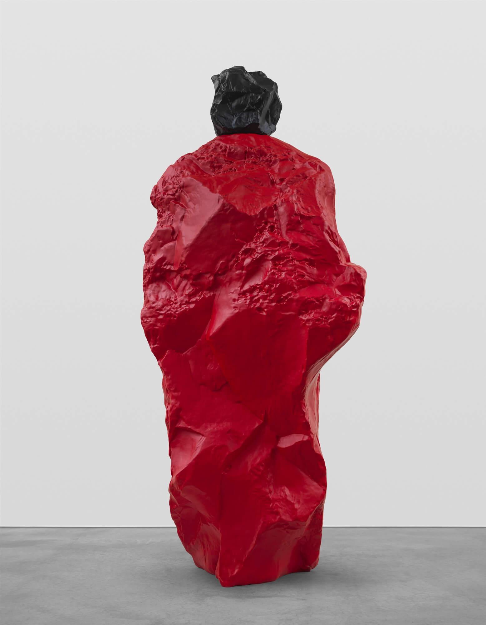 black red nun | UGO RONDINONE