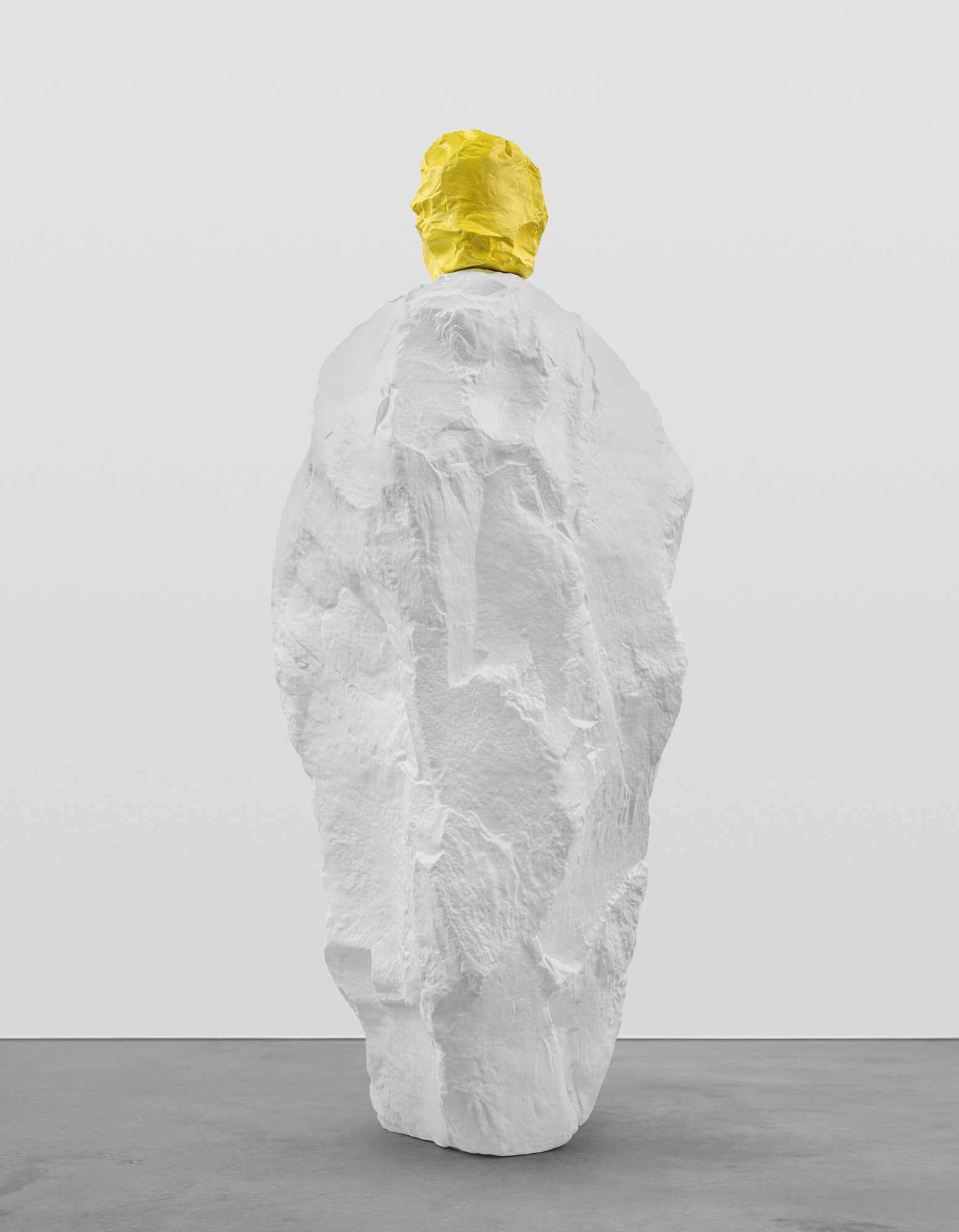 yellow white monk | UGO RONDINONE