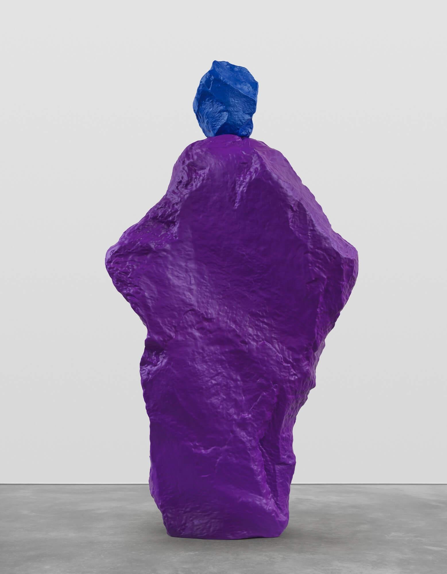 blue violet nun | UGO RONDINONE