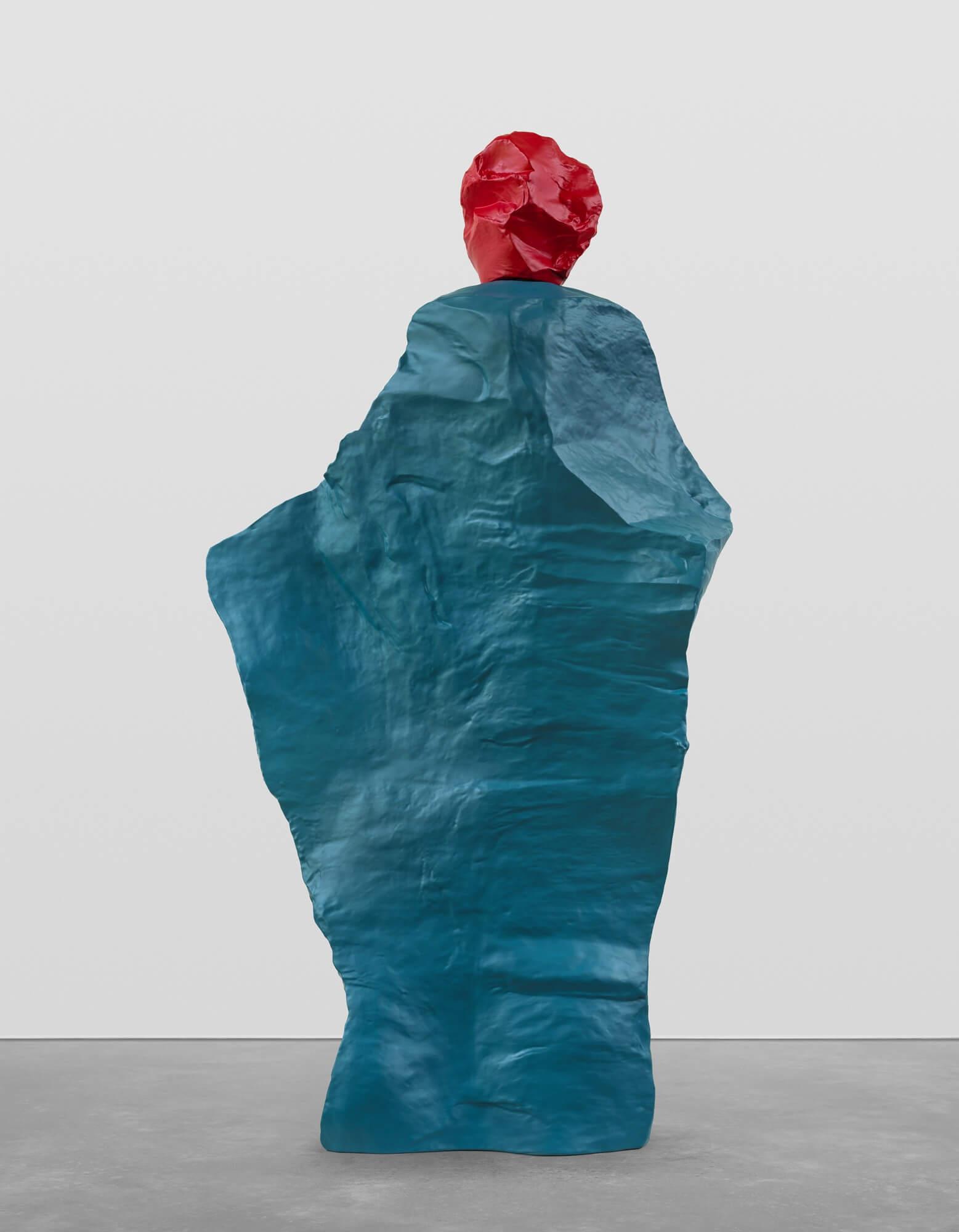 red green monk | UGO RONDINONE