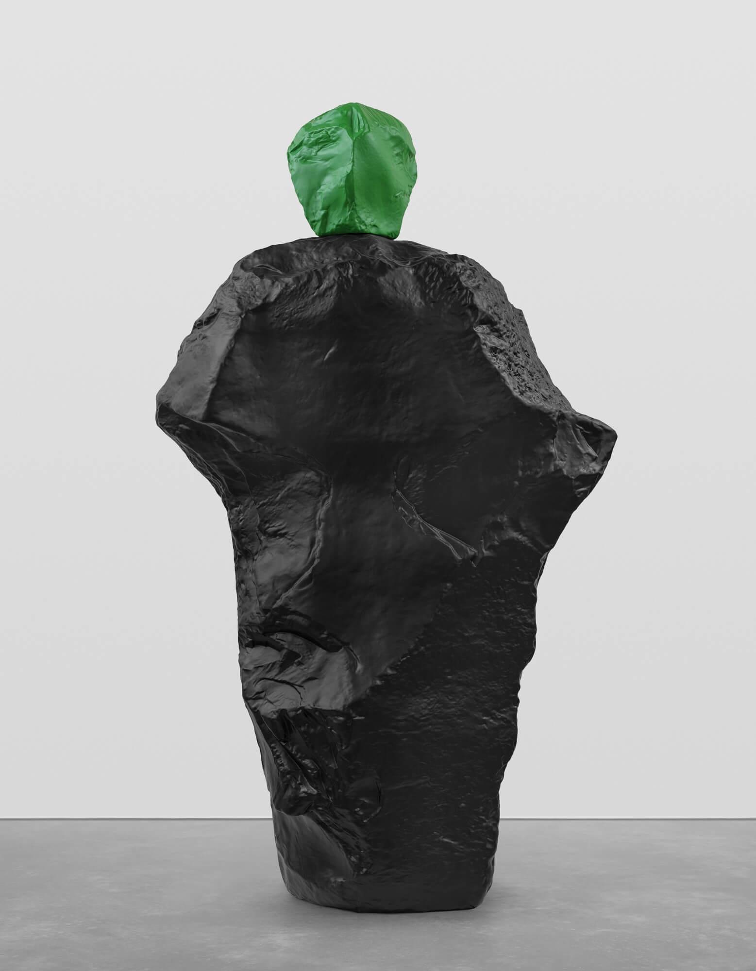 green black monk | UGO RONDINONE