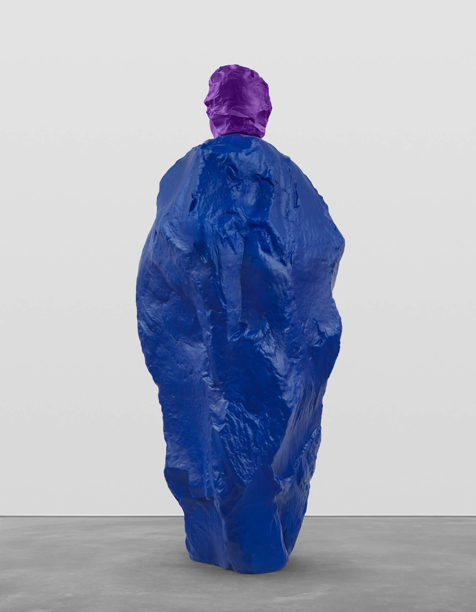 violet blue nun   UGO RONDINONE
