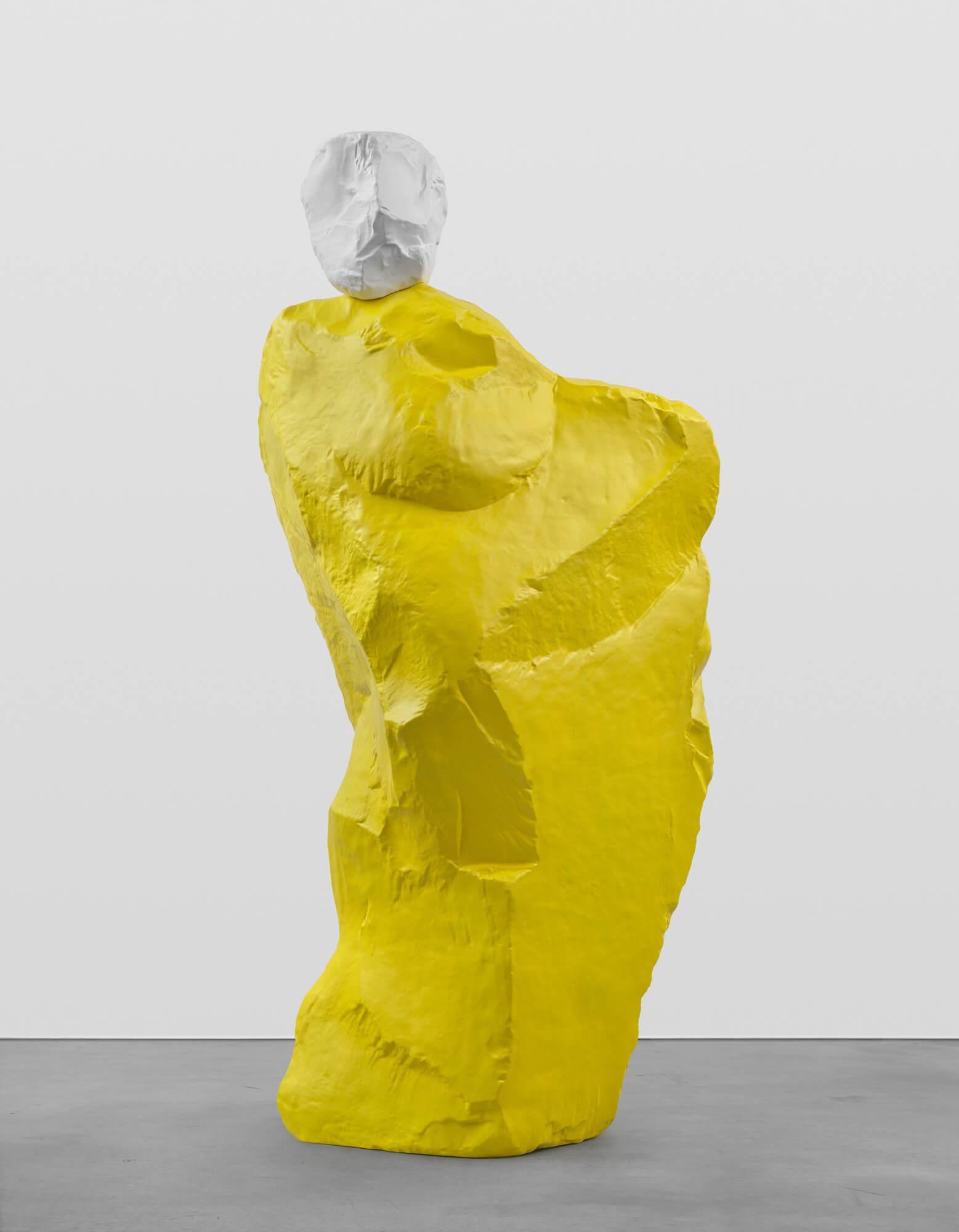 white yellow nun | UGO RONDINONE