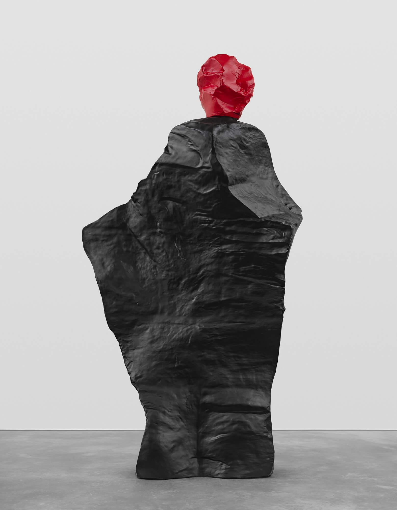 red black monk | UGO RONDINONE