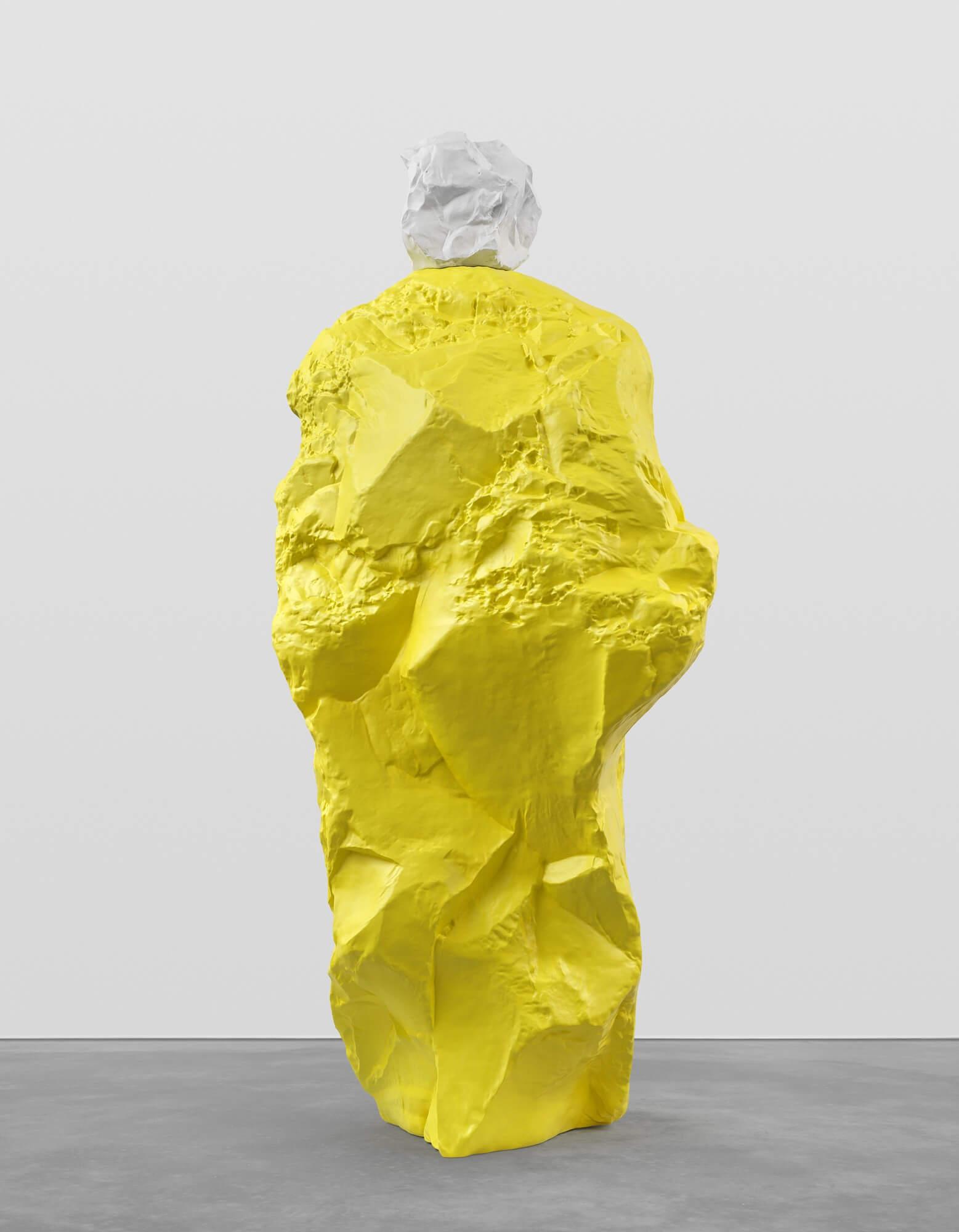 white yellow monk | UGO RONDINONE
