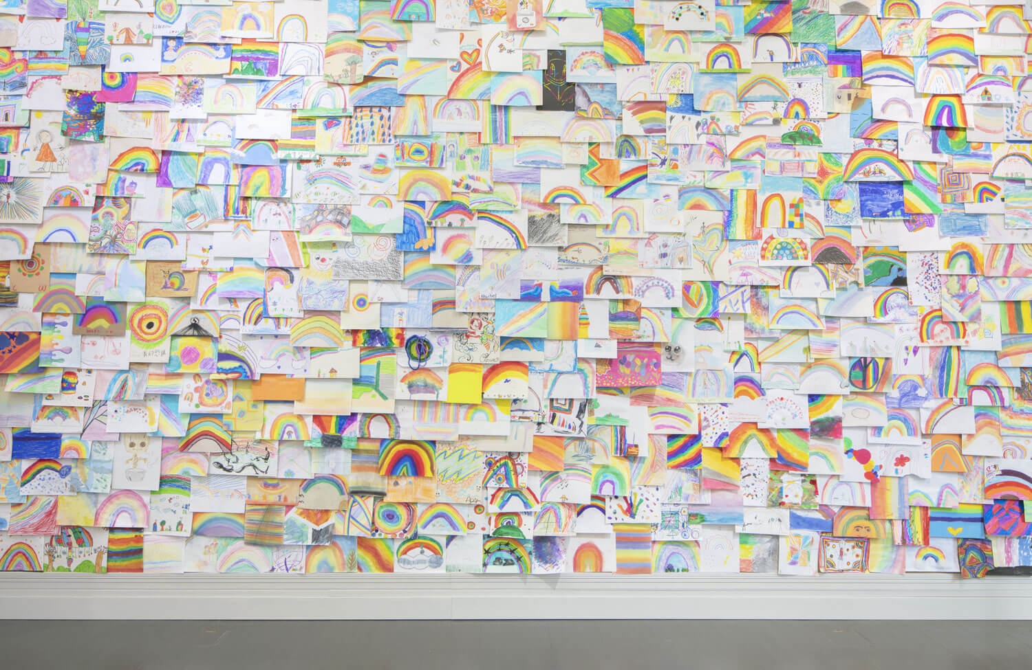 your age and my age and the age of the rainbow | UGO RONDINONE